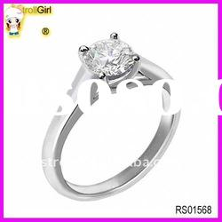 Fashion princess cut diamond ring