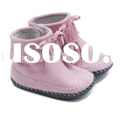 Girls tassels soft sole baby shoes, baby boots, infant shoes