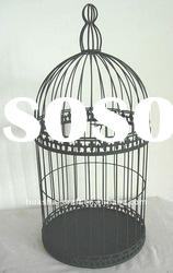 Hanging antique metal decorative bird cages cheap