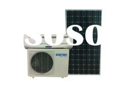High efficiency DC type 100% Solar air conditioners