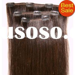 Hot wholesale clip in hair extensions for black women