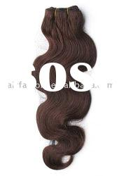 Human Hair weave Body Wave 4#,hair weft extensions