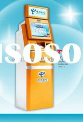 Lobby Touch Screen Payment Self-service display kiosk TLST-1008