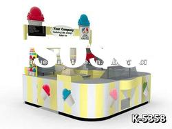 New 10x11ft Vanilla Ice Cream Maker Kiosk