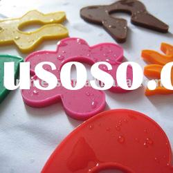 Silicone glass wine markers