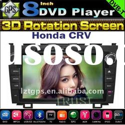 Special DVD GPS Stereo System for Honda CRV with Ipod,Bluetooth,Radio AM/FM,back camera,Digital TV