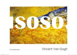 Vincent Van Gogh-The Harvester-reproduction oil painting