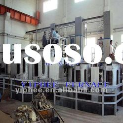 copper scrap induction melting furnace for sale