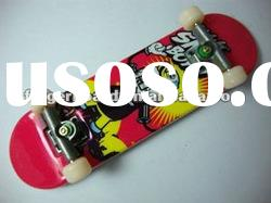 finger skateboards,new fingertoys, mini skateboards, children skateboard