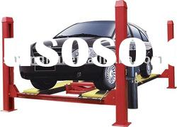 four post car lift with rolling jack