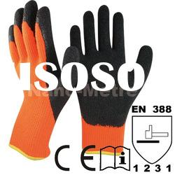 latex work glove for cold enviroment
