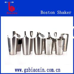 stainless steel boston shaker, shaker bottle,shaker