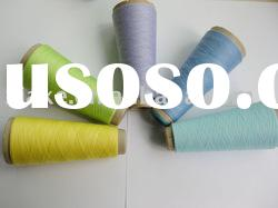 100% polyester spun dope dyed yarn recycle