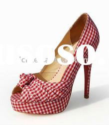 2011 stunning fashion design lady brand name shoes CLF041 free shipping