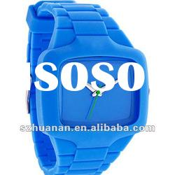 2012 fashion wholesale silicone watch