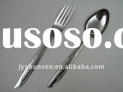 2012 hot sell stainless steel flatware