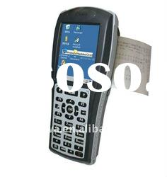 Industrial handheld PDA with built-in laser barcode scanner and Symbol thermal printer
