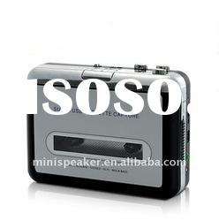 Portable USB cassette recorder player with MP3