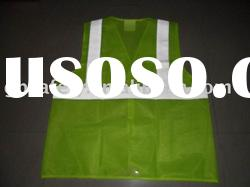 Reflective safety vest, traffic vest, safety clothing