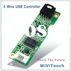 Touch Screen 4 wire USB Controller with cable