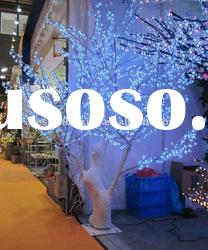 White color of artificial LED Cherry blossom tree light