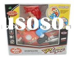 toy b/o bump and go cartoon motorcycle
