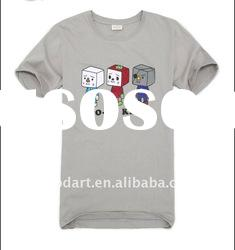 100 cotton fashion boys plain t shirts for printing TT140
