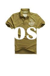 100 cotton t shirt t short sleeve olive brown shirts for boys AA119