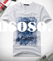 100 cotton white t shirt boys printed shirts plain t shirts for printingTT144