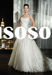 2011 New style saxy wedding dress gown ,