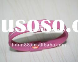 2011 !fashion gift ! Frequency energy silicone hologram wristband