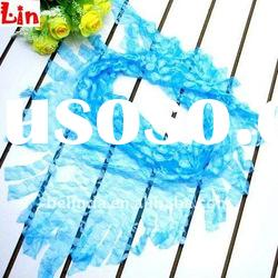 2012 Fashion lady blue square autumn scarf