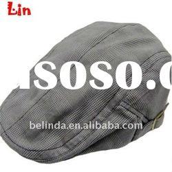 2012 Fashion men grey winter beret hat