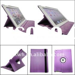 2012 New design leather case for iPad