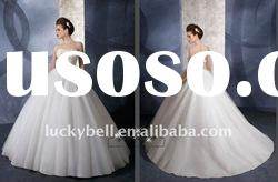 2012 Princess Hot sale Ball Gown Sleeveless Wedding dress