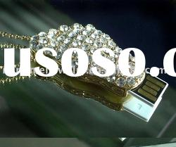 2012 hotselling promotional gift 8GB Flash drive Jewelry usb stick