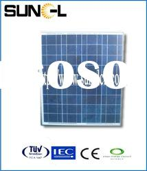 25years warrenty pv panels 50w with lowest price and high quality