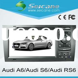 2 din Audi S6 RS6 gps navigation for car