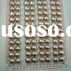 8-8.5mm AAA loose freshwater button pearls