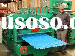 900 Glazed Tile Roll Forming Machine
