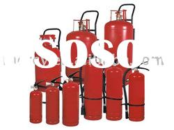 ABC or BC dry powder fire extinguisher unit