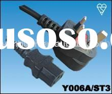 Ac Power Cord Assembly UK type BS 1363 cable