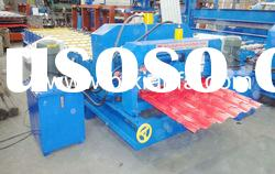 Archaized Glazed Tile Roll Forming Machine XF28-207-1035