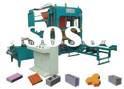 Automatic Concrete Hollow Block Forming Machine Production Line