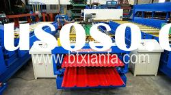 Automatic Double Layer Galvanized Steel Cold Bending Roll Forming Machine