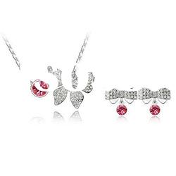 Butterfly Shaped Pendant Necklace Sets/Fashion Jewelry Sets4304-4306