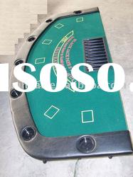 Casino Custom Playing card table gamble desk foldable