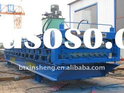 Colored Steel Panel Roll Forming Machine