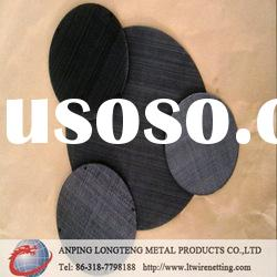 Durable low-carbon steel Black wire mesh(certifited)