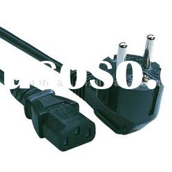 Euroepan Type Power cord supply cable plug europe standard